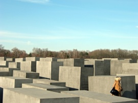 fotolia:  Holocaust- Mahnmal in Berlin