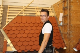 Lehre zum dachdecker